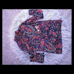 Ralph Lauren Womens Floral Top